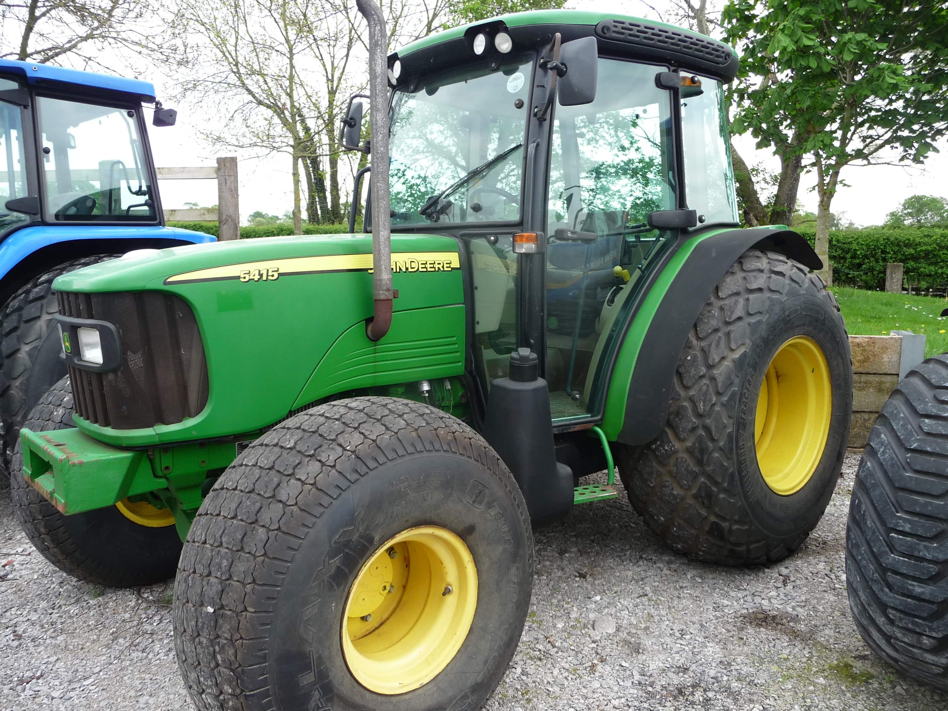 John Deere 5415 Tractor U3658