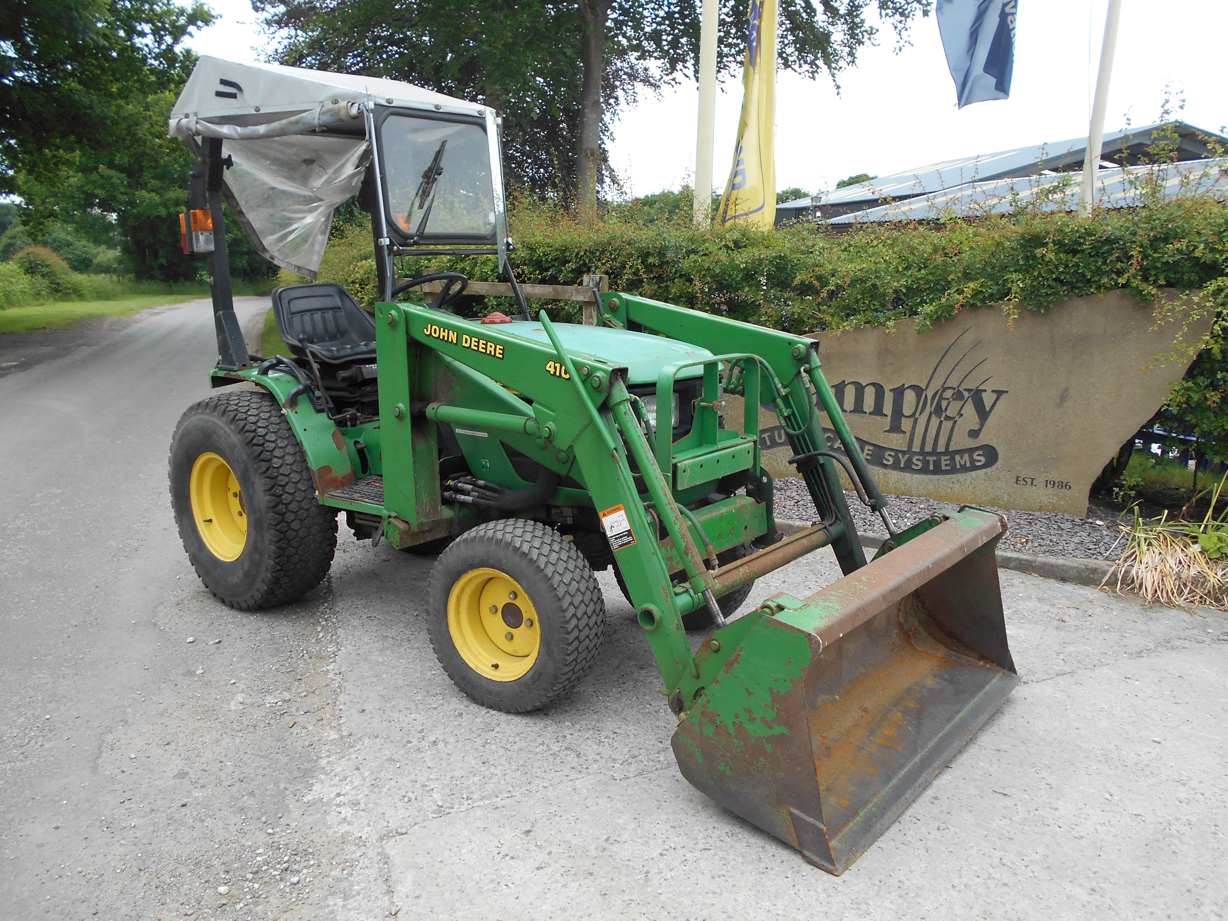 John Deere 4100 Tractor U3692