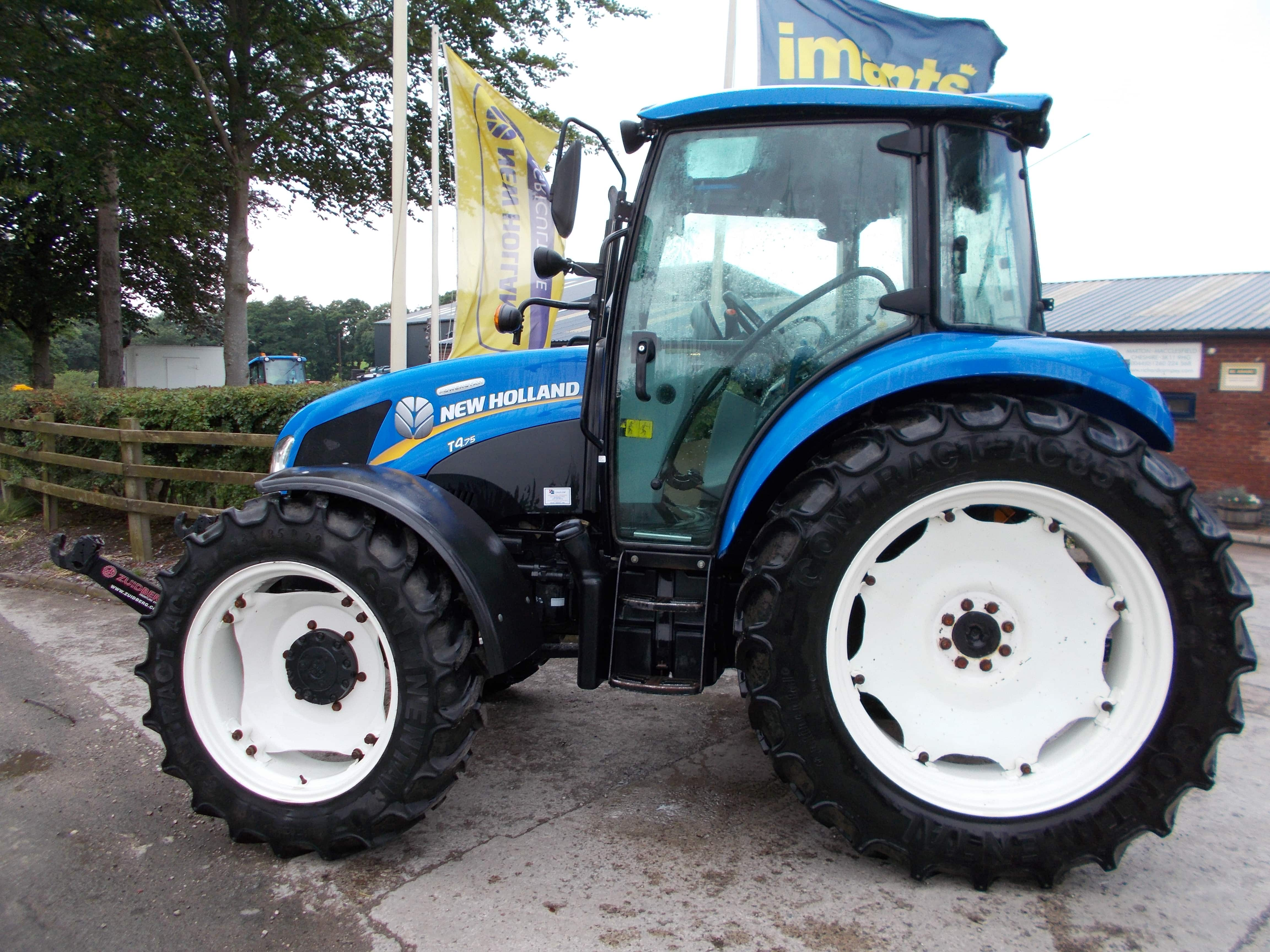 New Holland T4.75 Tractor U3717