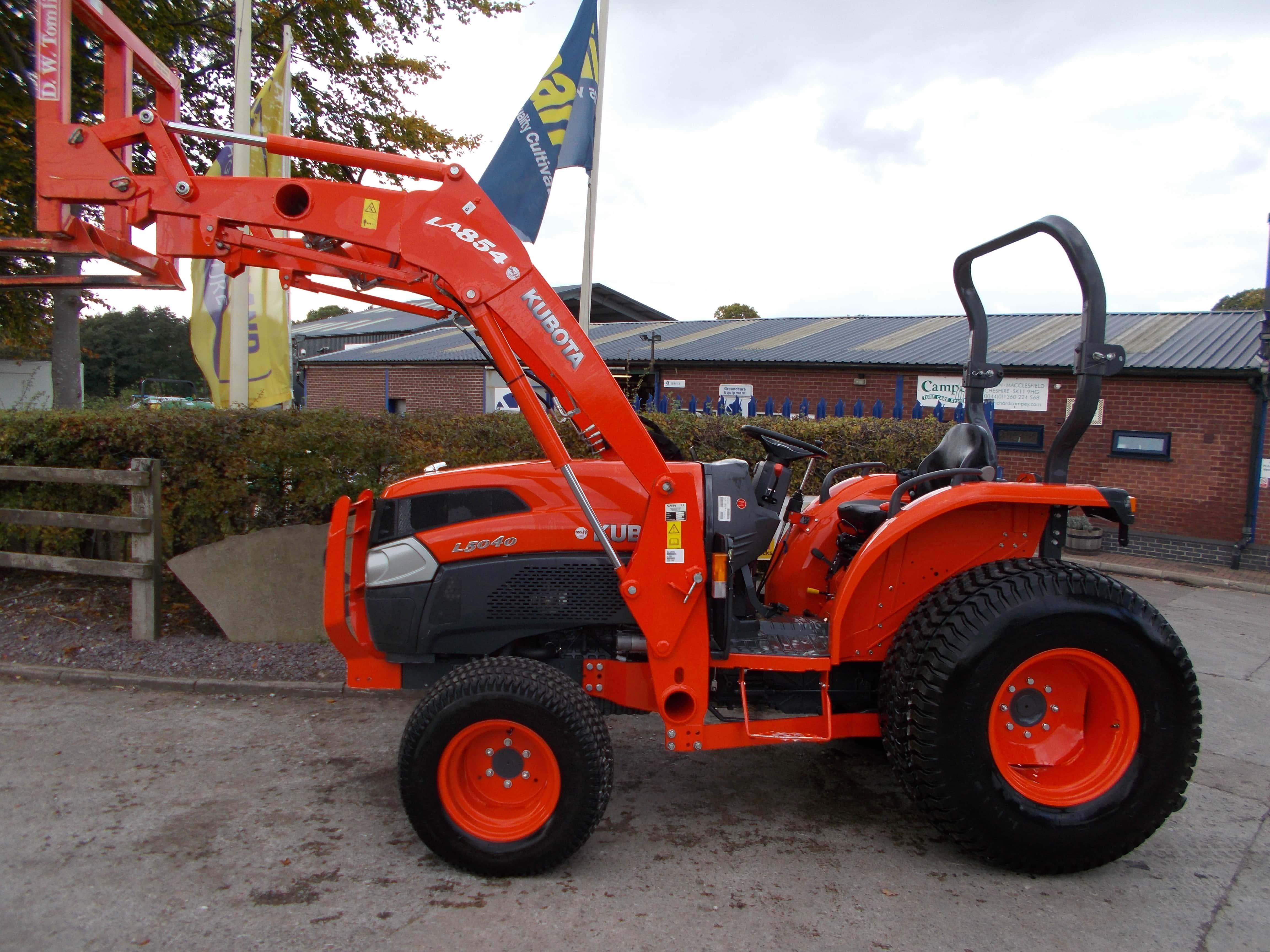 Kubota L5040 Tractor - U3788