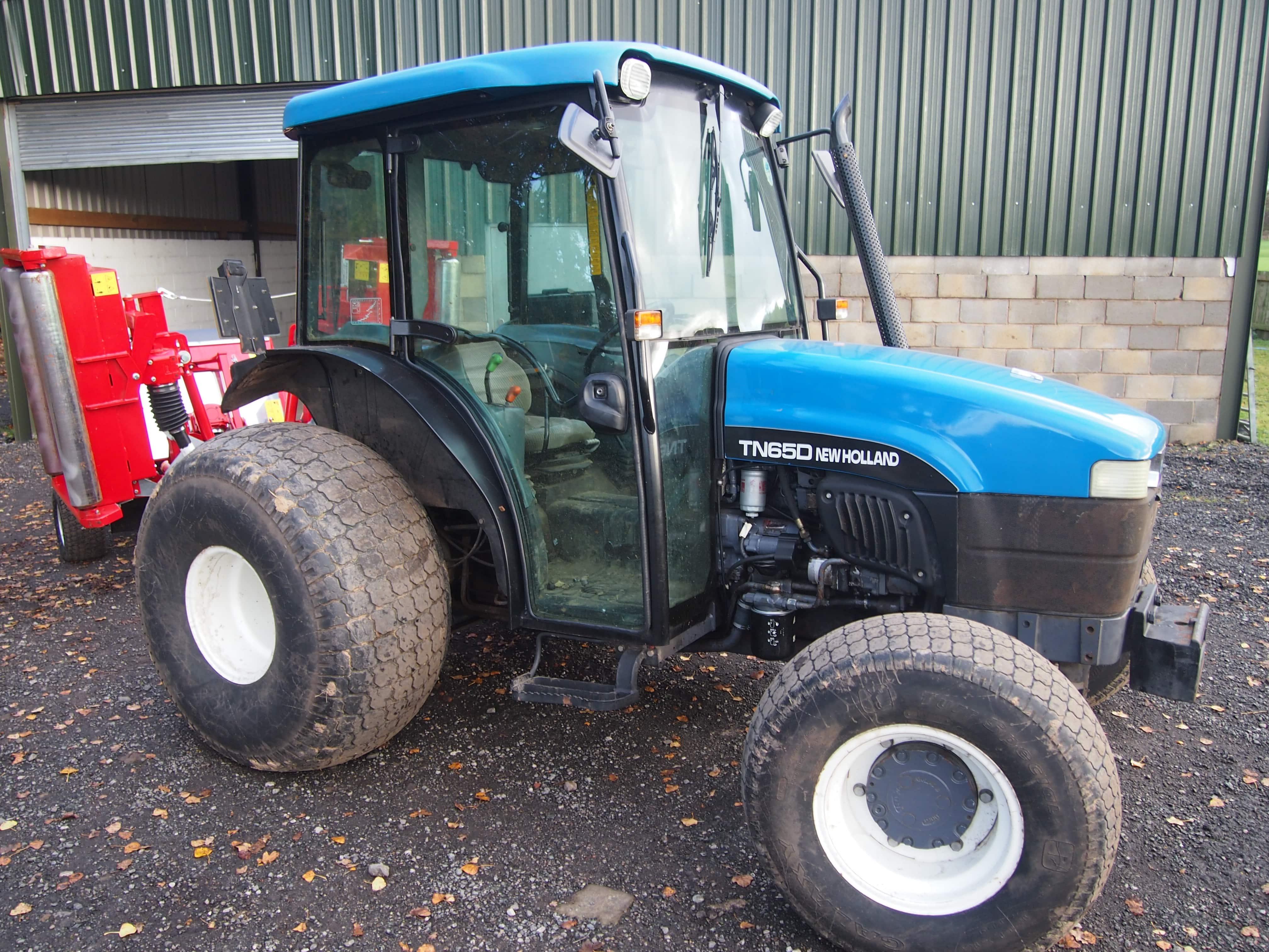 New Holland TN65D Tractor Uxxx