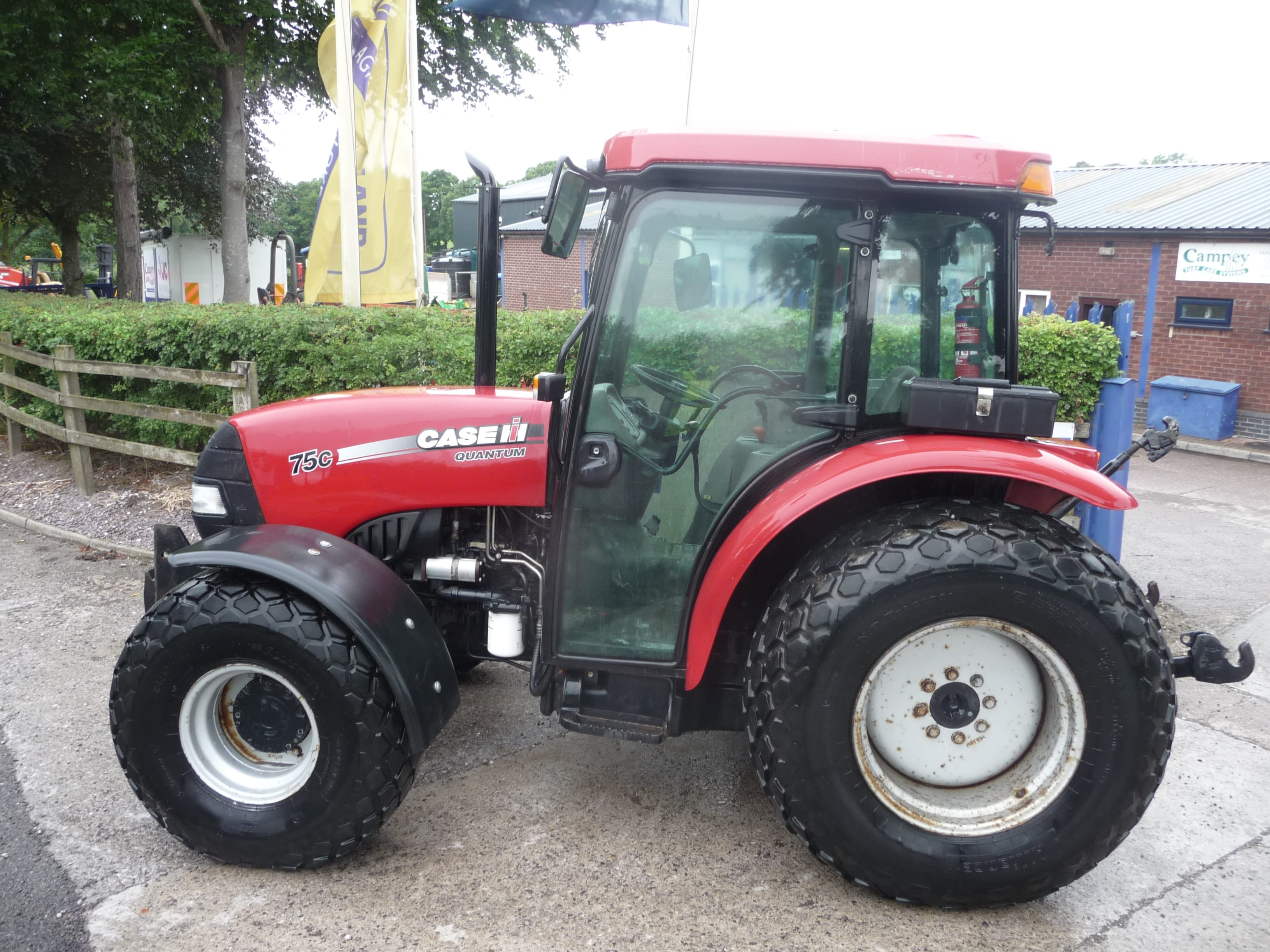 Case Quantum 75C Tractor U3958