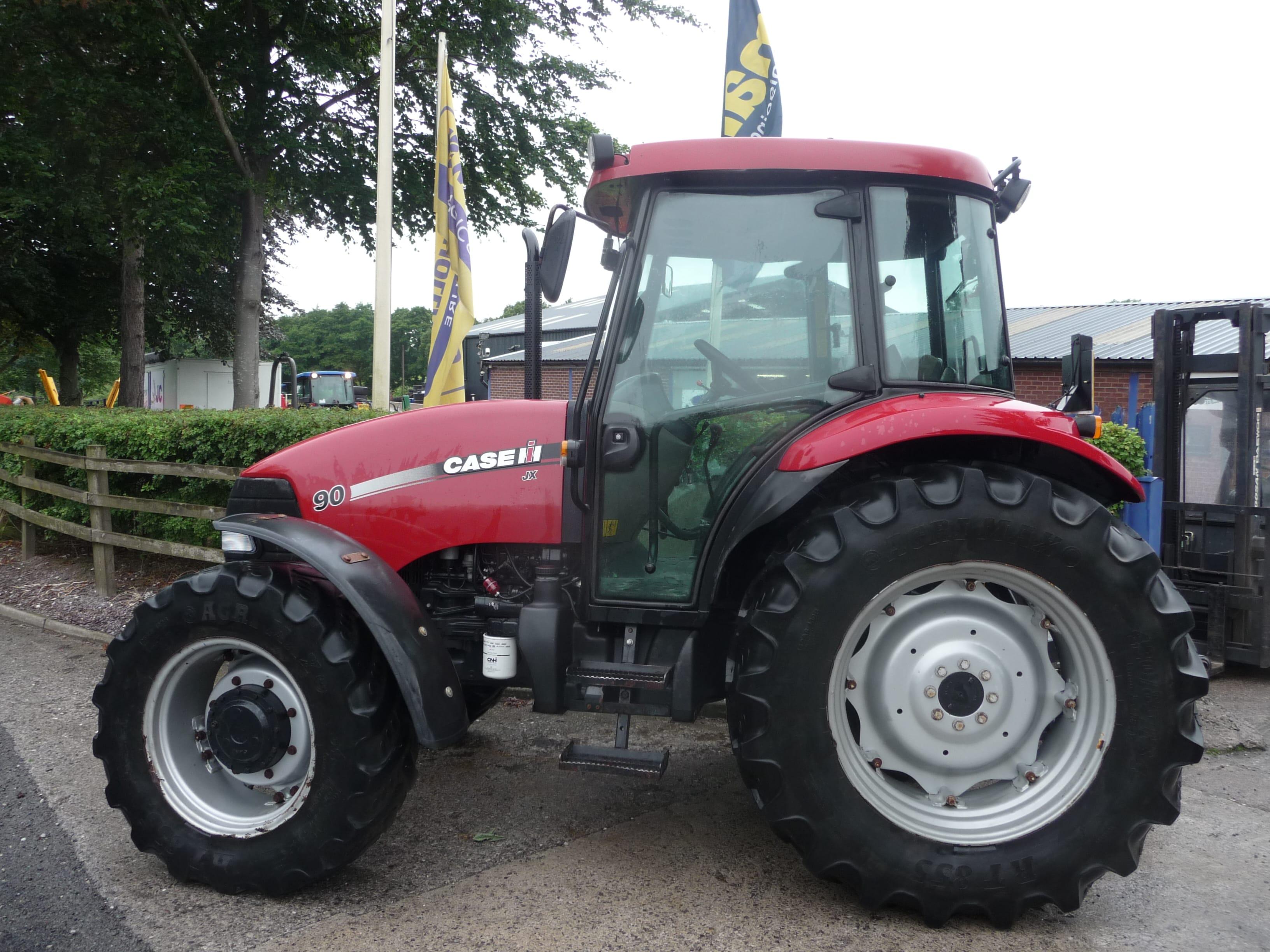 Case JX90 Tractor U3959