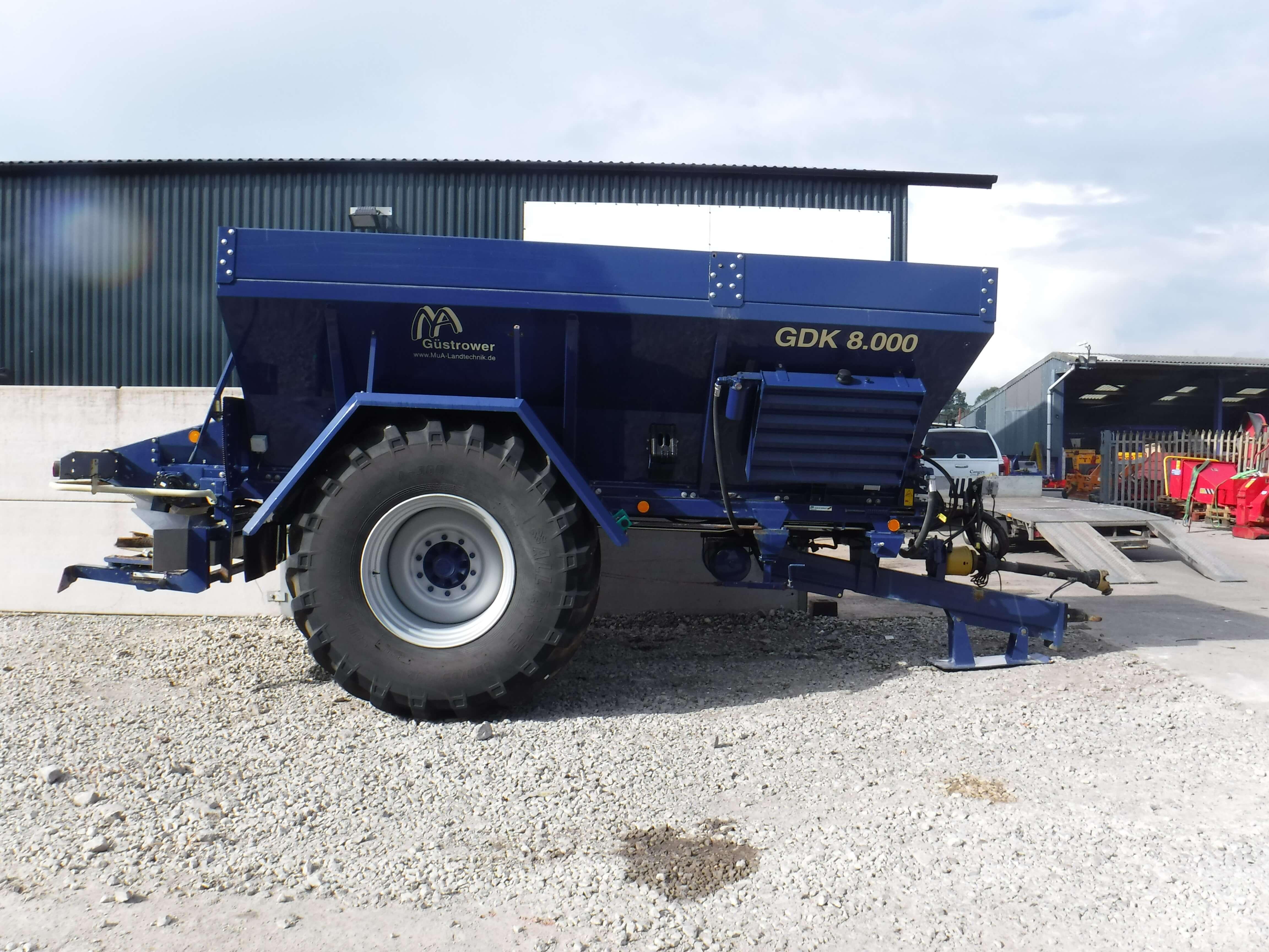 GDK 8.000 Gustrower Spreader