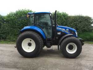 New Holland T5-115 Tractor - U3852